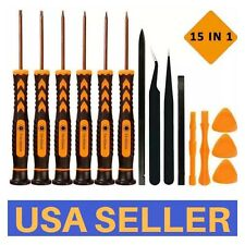 Precision Screwdriver Set 15 In 1 Torx With T3 T4 T5 T6 TR8 T10H Magnetic Repair