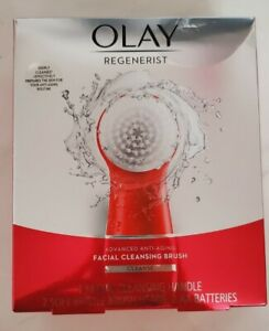 Facial Cleansing Brush by Olay Regenerist Face Exfoliator with 2 Brush Heads