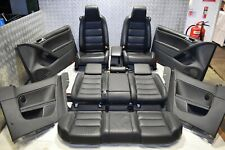 VW GOLF GTD GTI LEATHER SEATS WITH DOOR CARDS HEATED 3 DOOR GOLF MK6 2009- 2012