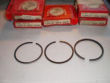 1 X CB 350 FOUR PISTON RING SET ANELLI PISTONE NOS NEW 13012-333-005 cb350 + 0,25