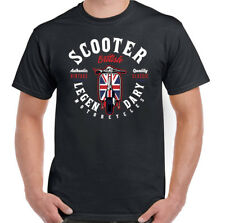 legendario Scooter Hombre Moteros Camiseta LAMBRETTA VESPA MOD PAUL WELLER MOTO