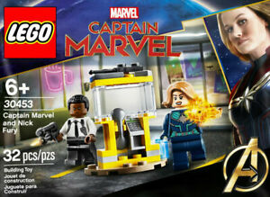 LEGO Avengers #30453 - Captain Marvel and Nick Fury - 100% NEW - Collector 2020