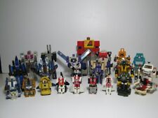 Vintage G1 Transformers Lot (21) THUNDERCRACKER BLASTER HOUND BLITZWING 1984-87