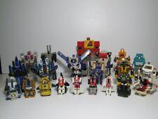 Vintage G1 Transformers Lot (21) THUNDERCRACKER BLASTER HOUND BLITZWING 1984-87