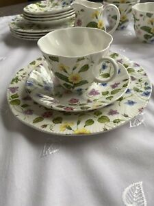 Kaffeeservice Orig. Queens Country Meadow England