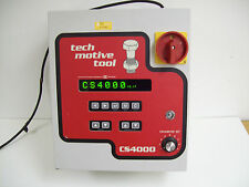 TECH MOTIVE TOOL CS4000 C40406B01K01CV2 TORQUE TOOL CONTROLLER - FREE SHIPPING!!