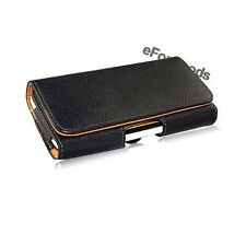 New Black  Pouch Leather Case Belt Clip Holster for Apple iPhone 5 5S 5C