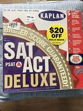 Kaplan Sat Psat & Act Deluxe Cd's 1998 Edition