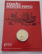 """Portugal 2 euros Coincard  2011 BU Bnc """"F. Pinto"""" ✔"""