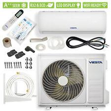 VIESTA 12SM Split Klimaanlage Klimagerät Inverter 12000BTU 3,4kW WiFi-Ready A++