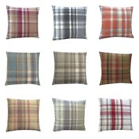 Highlands Skye Tartan Tweed Plaid multi colours sizes hand made UK cushion cover