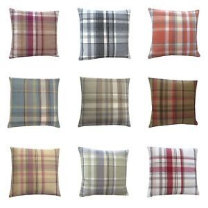 Highlands Skye Tartan Tweed Plaid multi colours sizes hand made UK cushion cover