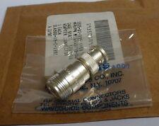 HP Agilent 1250-1476 N Tipo Presa a Spina BNC Premium Grade RF coassiale adattatore
