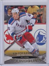 Stu Bickel 11/12 Upper Deck Series Two UD Exclusives Young Gun Rookie /100
