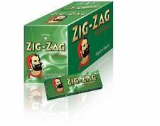 100 ZIG ZAG GREEN CIGARETTE ROLLING PAPERS BOX BOOKLETS
