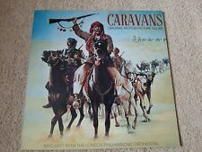 CARAVANS SOUNDTRACK VINYL LP - MIKE BATT - 1978 CBS