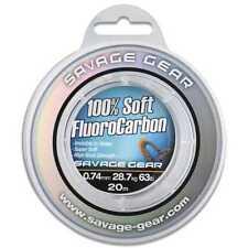 Savage Gear 100 Soft Fluoro Carbon 1 00mm 15m Vorfachmaterial