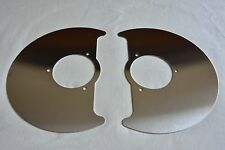 VW Type 2 T3 Vanagon Transporter front disk brake cover plates shields L & R 2WD