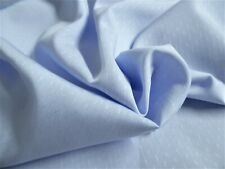 "Micro Jacquard Pima Cotton~Baby Blue~12""x30""~Do lls~Miniatures"