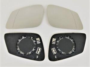 Spiegel Spiegelglas rechts + links BMW 5er F07 F10 F11 ab 10.2009 Set beheizbar