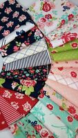 SMITTEN Bonnie and Camille Repro Quilting Moda fabrics - 26 fat quarters 6.5 yds