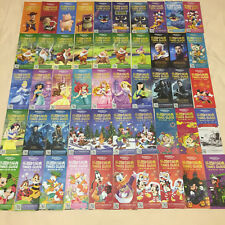 50pics Disneyland Shanghai Disney Time Guide lot paper collection