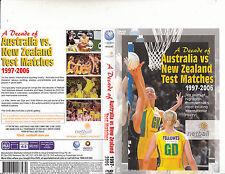 Netball-Australia VS New Zealand:Test Matches-1997-2006-[80 Minutes]-Netball-DVD