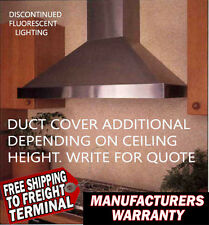 New Vent A Hood PWD14148-SS Kitchen wall Vent Stainless Steel 48 inch 300 CFM