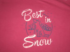 LIFE IS GOOD WOMEN'S  L/S ROCKET BEST IN SNOW CRUSHER T- SHIRT SIZE XXL