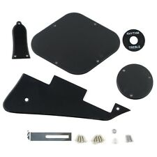 LP Guitar Pickguard 1Ply Black Color with Back Plate Set for Les Paul Guitar New