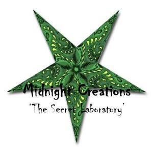PAPER STAR LIGHT HANGING LANTERN    green 'swirls'   includes hanging cord