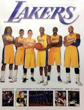 Los Angeles Lakers Basketball Vintage Yearbooks