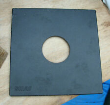 genuine Sinar F & P  lens board panel with compur copal 1 hole