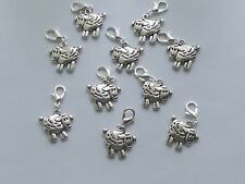 Set of 10 SHEEP  Stitch Markers,Knitting,Crochet,Charms Row  Counters  crafts