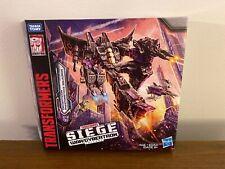 Transformers Siege WFC-S27 Decepticon Phantomstrike Squadron Skywarp