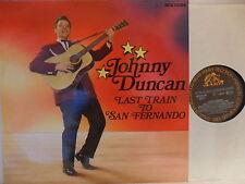 Johnny Duncan-Last Train to San Fernando-LP 1985 D-Bear FAMILY BFX 15169