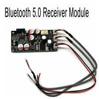 12V 24V Bluetooth 5.0 Receiver HiFi Audio DAC Decoder Amplifier Board AUX T1Y5
