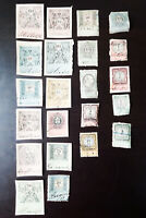Austria High Value Revenue Stamp Lot Collection