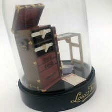 Louis Vuitton Monogram Logo Stokowski Desk Steamer Trunk VIP Snow Globe Gift