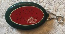 1970S Emerald Bay Dark Tanning Lotion Watermelon Change Purse