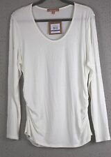 Ellen Tracy white size XL top; New with Tags