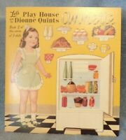 Play House With The Dionne Quints Annette Book 2 of 5 Paper Doll Set