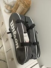 wilson super tour Tennis Bag 3 Comp Brand New