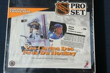 NEW SEALED NHL 1991 Pro Set Edition Francaise (French) Hockey Cards Box 36 Packs