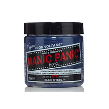 Blue Steel Manic Panic Vegan 4 Oz Hair Dye Color