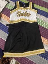Adult Cheerleader REAL Varsity Pleated Uniform Raiders Halloween Costume Sz XL