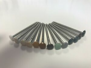 Poly Pins, Nails Stainless Steel, 40, 50, 65 mm Fascia, Soffits UPVC Plastic
