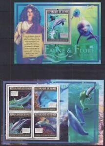C902. Guinea - MNH - Animal Kingdom - Marine Life - Dolphins