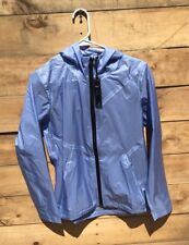 Aether Apparel Lucent rain jacket womens S sz 1 harbor blue windbreaker NWT $235