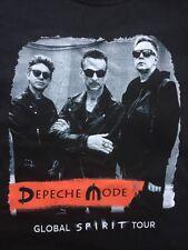 DEPECHE MODE  Spirit Tour 2017 Frankfurt/ Stuttgart/ Mannheim Shirt Gr.L Black